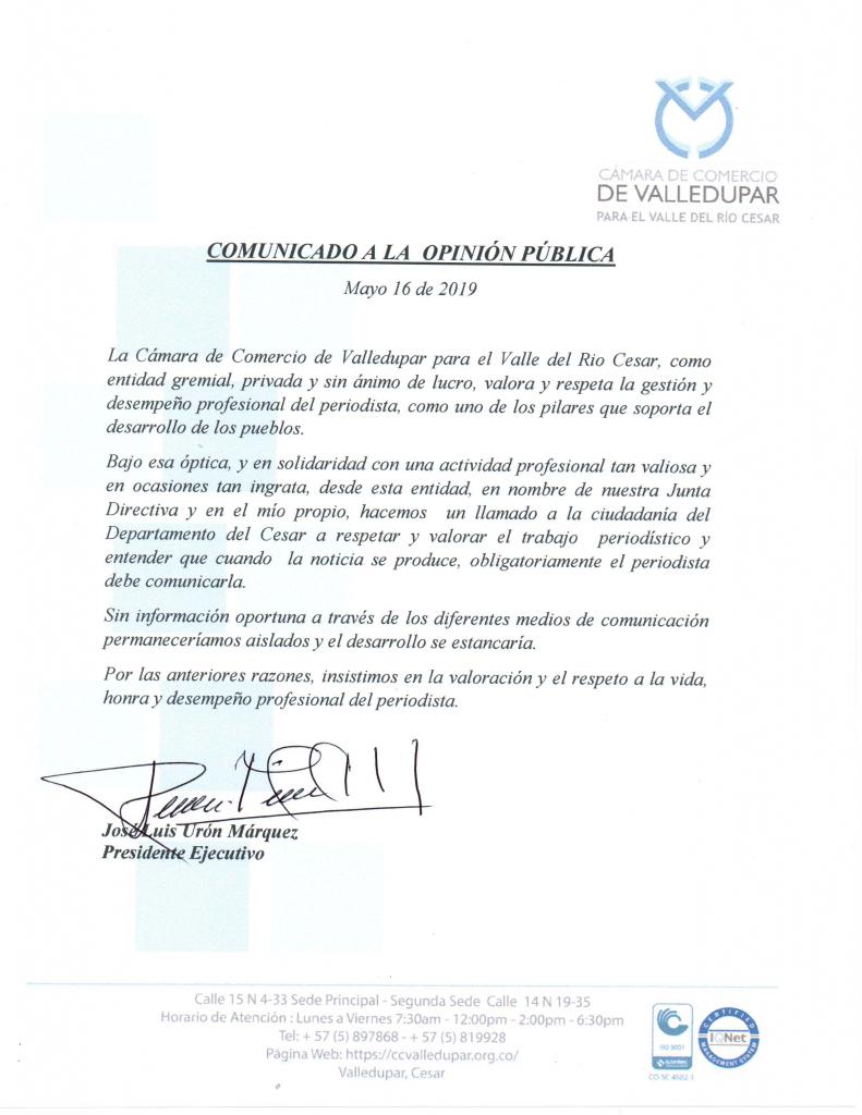 COMUNICADO A LA OPINION PUBLICA-01